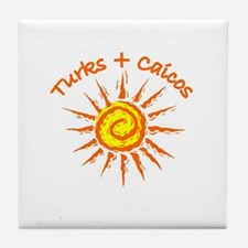 Turks & Caicos Tile Coaster