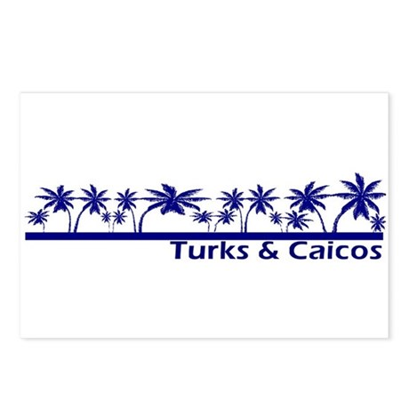 Turks & Caicos Postcards (Package of 8)