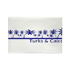Turks & Caicos Rectangle Magnet