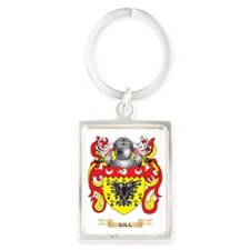 Gill-England Coat of Arms (Famil Portrait Keychain