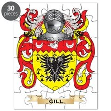 Gill-England Coat of Arms (Family Crest) Puzzle