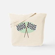 Racing Flags Tote Bag