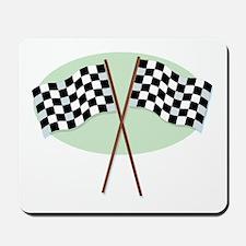 Racing Flags Mousepad