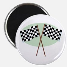 Racing Flags Magnet