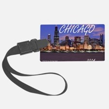 chicago 2014 Luggage Tag