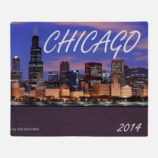 chicago 2014 Throw Blanket