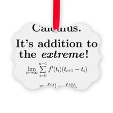 Calculus is extreme Ornament