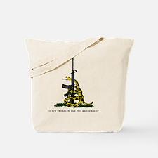 Gadsden Flag - 2nd Amendment Tote Bag