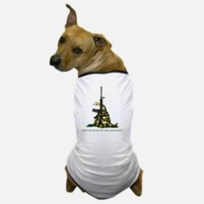 Gadsden Flag - 2nd Amendment Dog T-Shirt