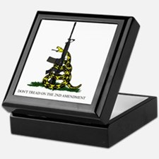 Gadsden Flag - 2nd Amendment Keepsake Box