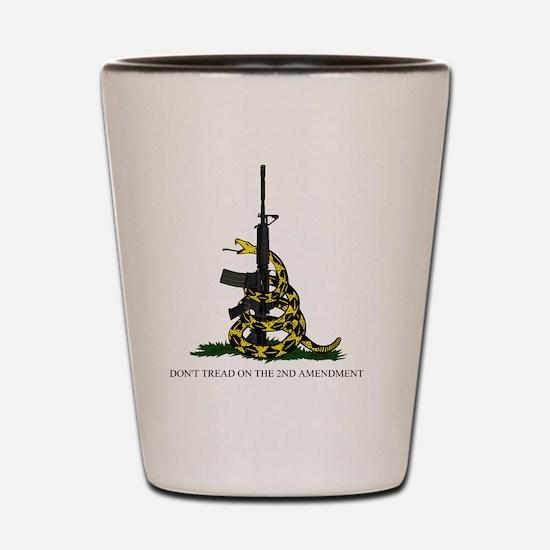 Gadsden Flag - 2nd Amendment Shot Glass