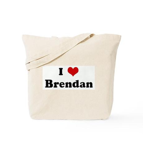 I Love Brendan Tote Bag