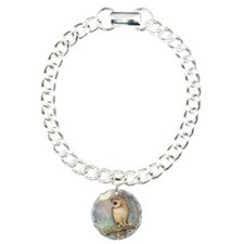 Brown Spotted Owl Waterc Bracelet
