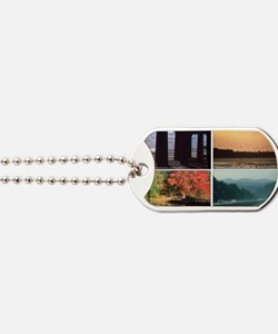 01statescaptions Dog Tags