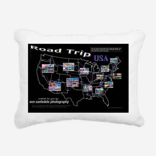 ROADTRIP17x11cover Rectangular Canvas Pillow