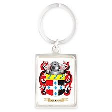 Glenn Coat of Arms (Family Crest Portrait Keychain