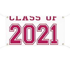 Class of 2021 (Pink) Banner