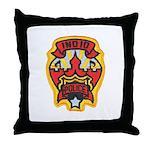Indio Police Throw Pillow