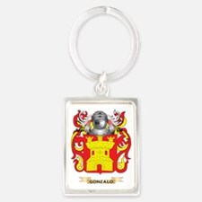 Gonzalo Coat of Arms (Family Cre Portrait Keychain