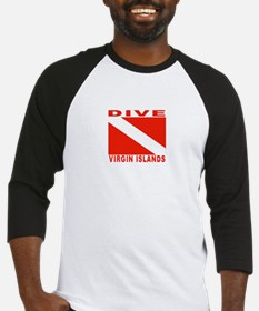 Dive Virgin Islands Baseball Jersey