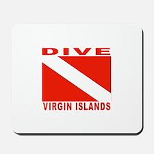 Dive Virgin Islands Mousepad