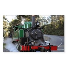 Puffing Billy at road crossing Decal