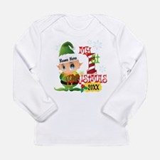 Baby Elf 1st Christmas Long Sleeve Infant T-Shirt
