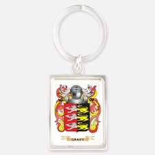 Grady Coat of Arms (Family Crest Portrait Keychain