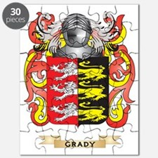 Grady Coat of Arms (Family Crest) Puzzle