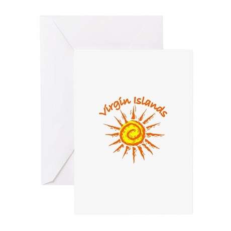 Virgin Islands Greeting Cards (Pk of 10)