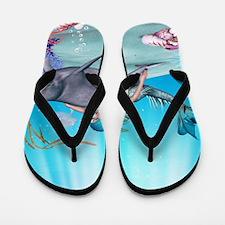 The Mermaid Flip Flops