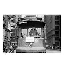 Brooklyn Bridge Trolley Postcards (Package of 8)