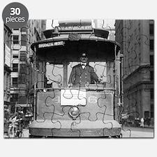 Brooklyn Bridge Trolley Puzzle