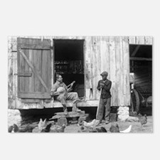 Barnyard Banjo Player Postcards (Package of 8)