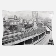 Brooklyn Bridge Terminal Pillow Case