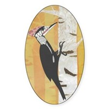 pileated woodpecker (journal) Decal