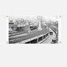 Brooklyn Bridge Terminal Banner