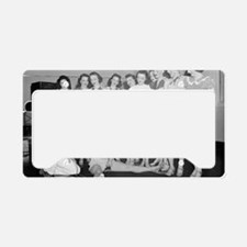 Dancing Class License Plate Holder