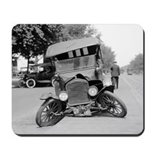 Crashed Ford Model T Mousepad