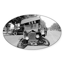 Crashed Ford Model T Decal