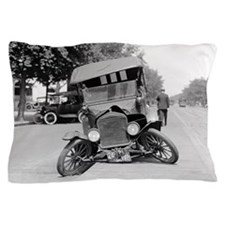 Crashed Ford Model T Pillow Case