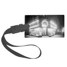 Corner Store At Night Luggage Tag