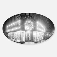 Corner Store At Night Decal