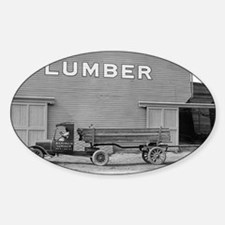 Early Ford Tractor Trailer Decal