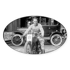 Harley-Davidson Motorcycle Racer Decal