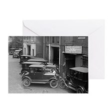 Ford Sales and Service Greeting Card