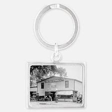 Hyattsville Auto Company Landscape Keychain