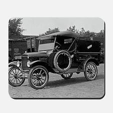 Hertz Model T Rental Truck Mousepad