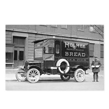 Holmes Bakery Delivery Tr Postcards (Package of 8)