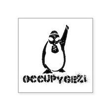 "Occupy Gezi - Diren Gezi Pa Square Sticker 3"" x 3"""